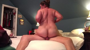 Amateur cougar Becky s first time anal cowgirl…