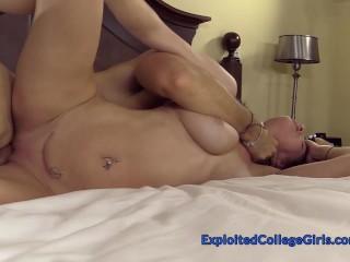 Busty Lactating Redhead Amateur Porn Debut