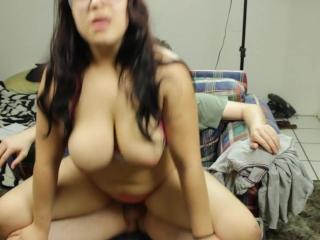 Teen Amateur Daisy Dabs fucked in see through panties