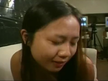 Young Asian model gets it first time anal